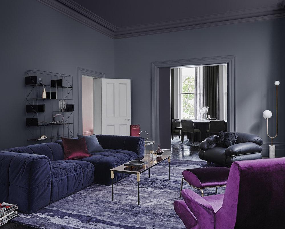 Image: Dulux Colour Trends 2018 – Reflect Palette. Styling: Bree Leech. Photographer: Lisa Cohen.
