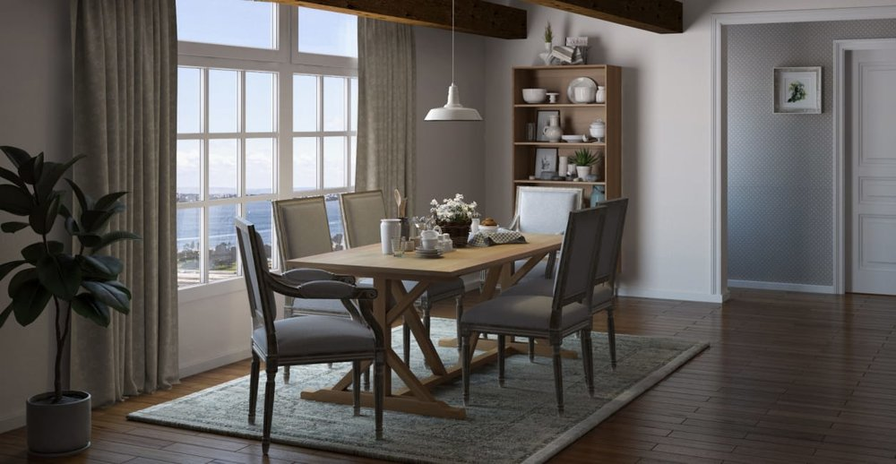 Image: Brosa, Petite Fleur Dining Chairs