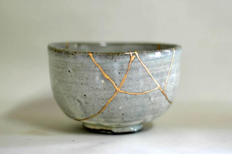 Image: The Book of Life, 'Kintsugi'- The centuries-old art of repairing broken pottery with gold.