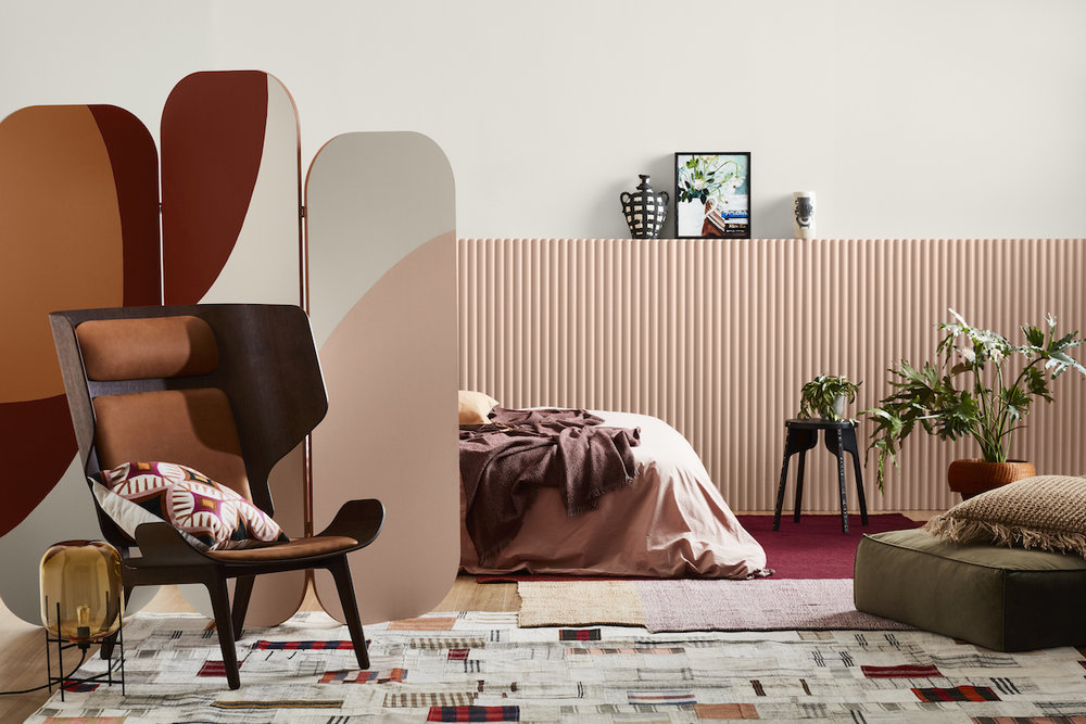 Dulux Colour Trends 2018 – Kinship Palette. Styled by Bree Leech. Photographer: Mike Baker