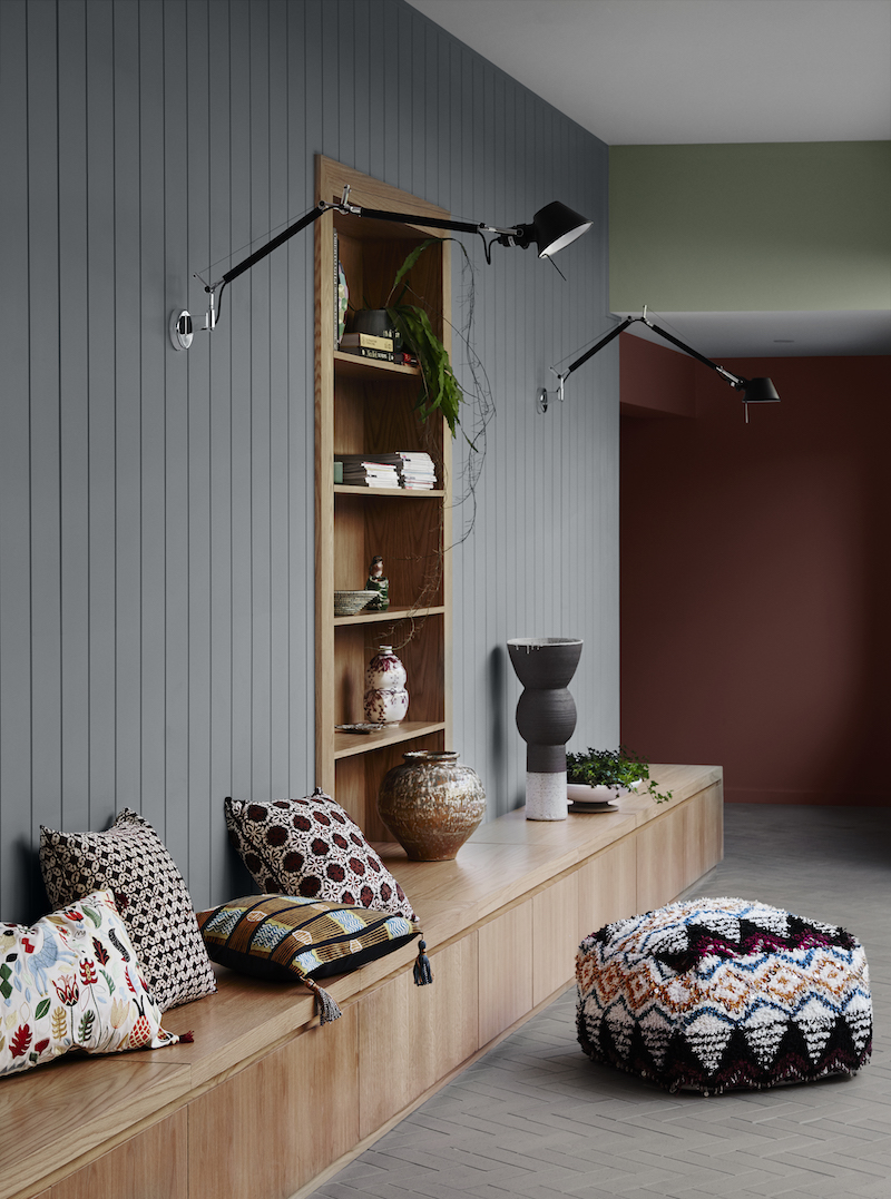 Dulux Colour Trends 2018– Kinship Palette. Styled by Bree Leech. Photographer: Lisa Cohen.