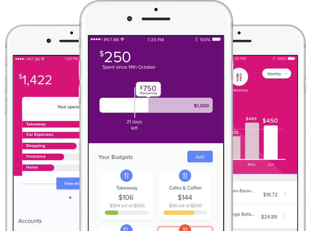 Image: Pocketbook, budgeting & expense tracker