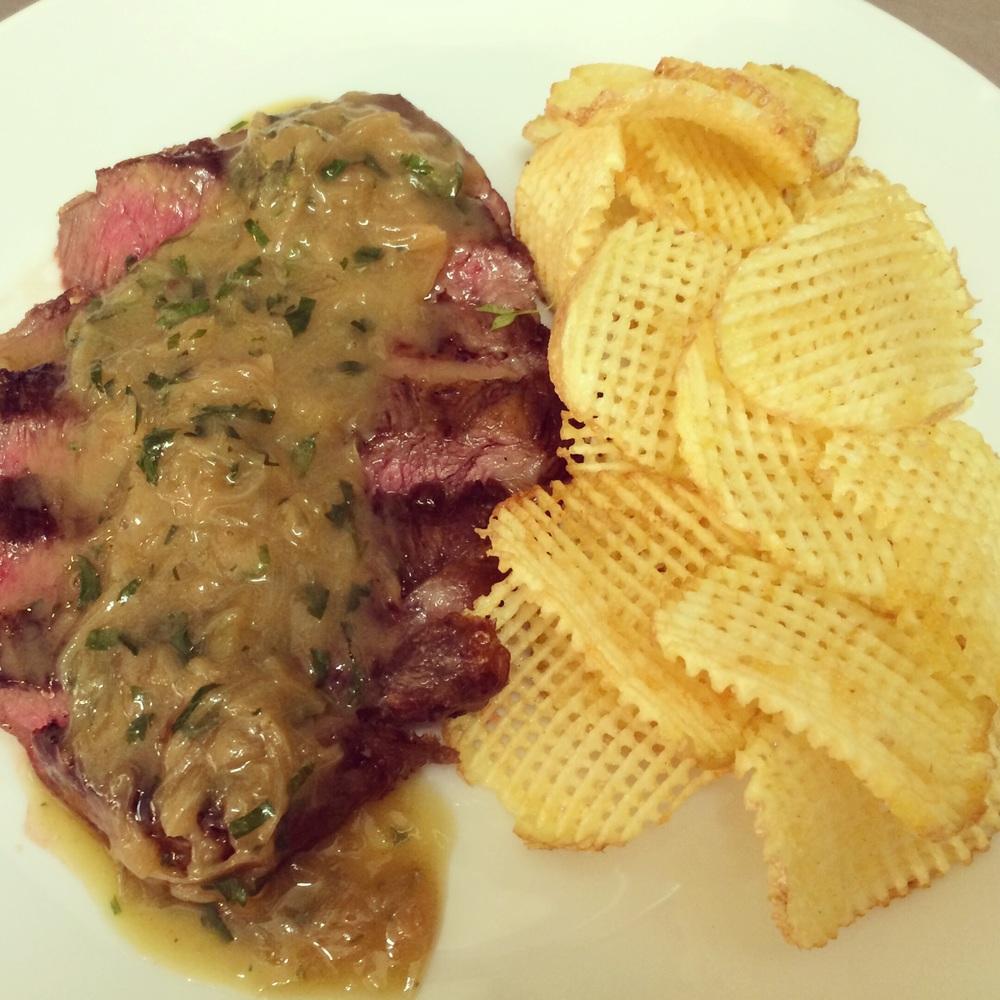 Wagyu onglet steak