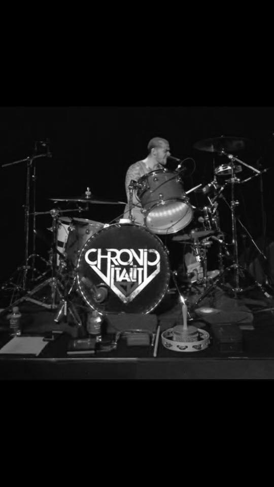 GARRETT MANN - drums