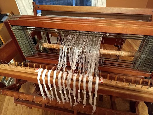 Finally getting around to warping this Norwood. It's been sitting in my living room looking pretty since October 2016. Terrified of that sectional beam.