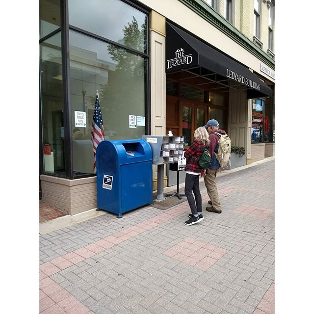 ArtPrize is officially over, but you can still see PO (Art)Box through  Monday at the Post Office on Monroe Center. After that, you'll be able to see it at Fountain Street Church for the next month!