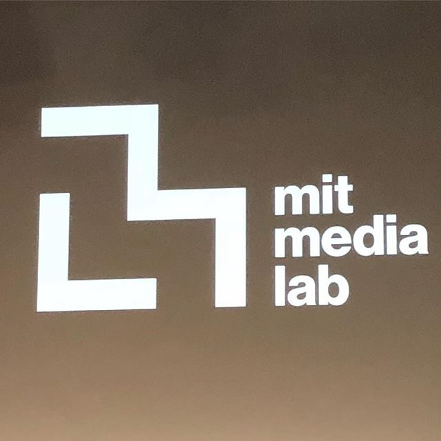 So excited to be here! My brain is 🤯 #mitmedialab #brainpower