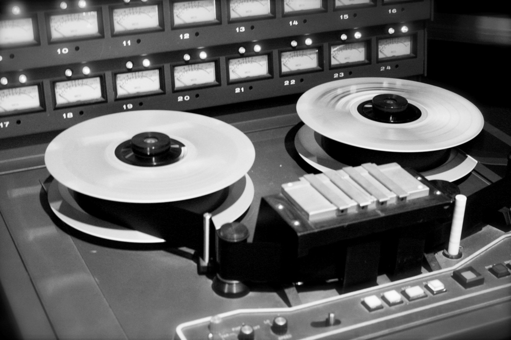 Using Tape for Recording in Los Angeles