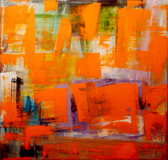 "TOFL 9  Oil on canvas  36"" x 36"""