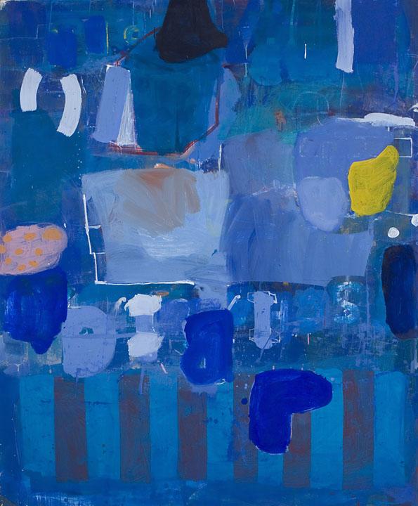 """Regatta  Oil on canvas  72"""" x 60"""""""