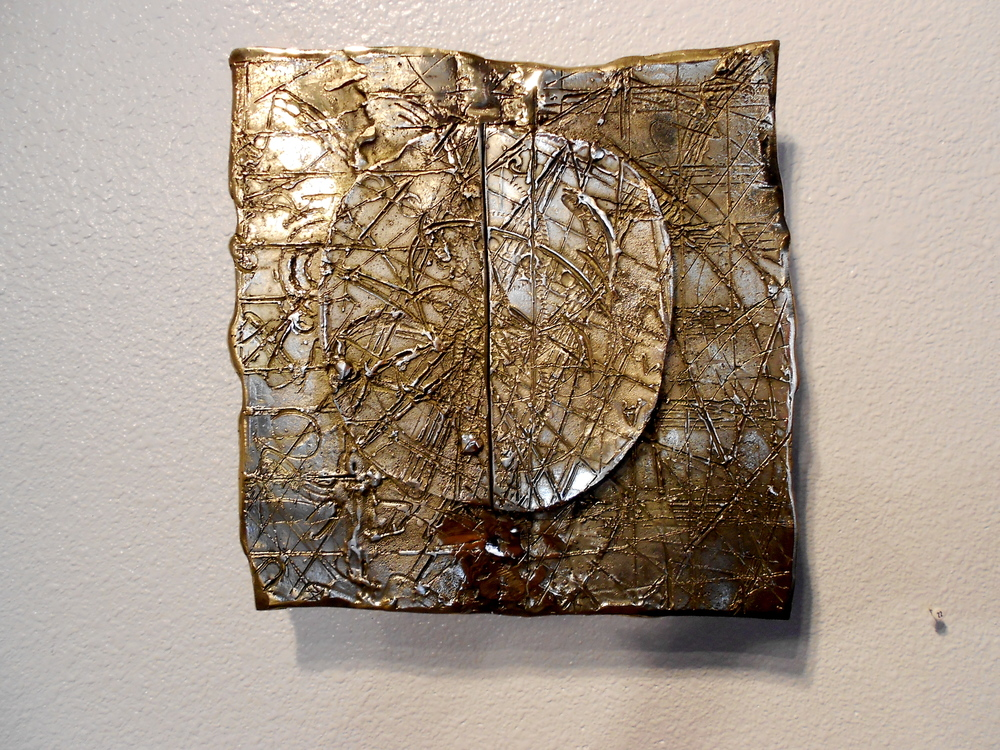 "Bronze Wall Relief (3)  12"" x 12"""