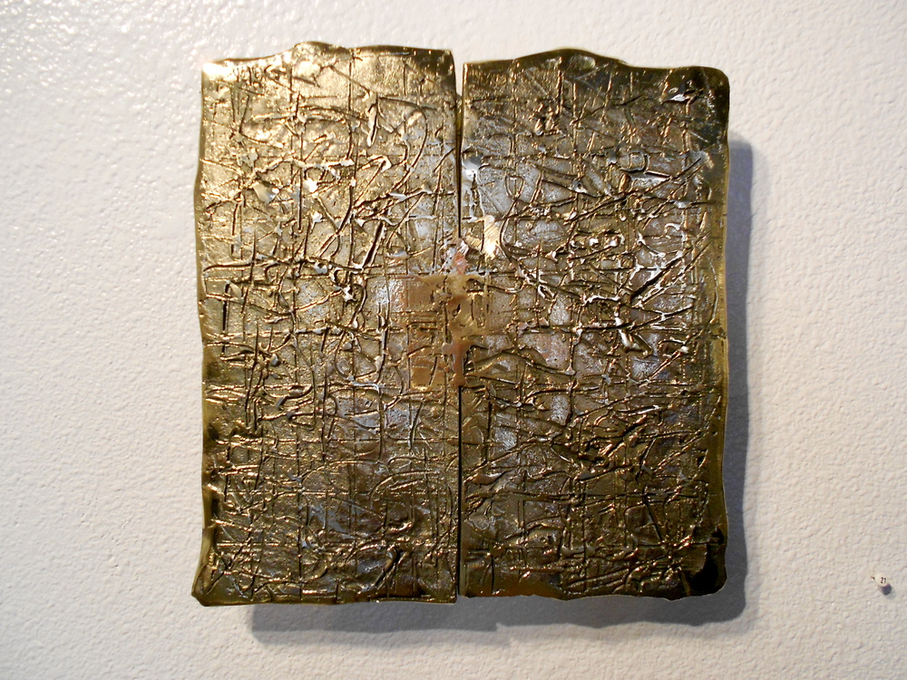 "Bronze Wall Relief (2)  12"" x 12"""