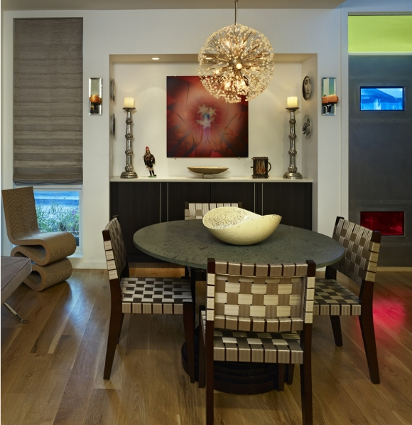 Photography: Ron Ruscio . Architect: Matt Lawton of Sexton Lawton Architects . Interiors: Barbatelli Signature Interiors
