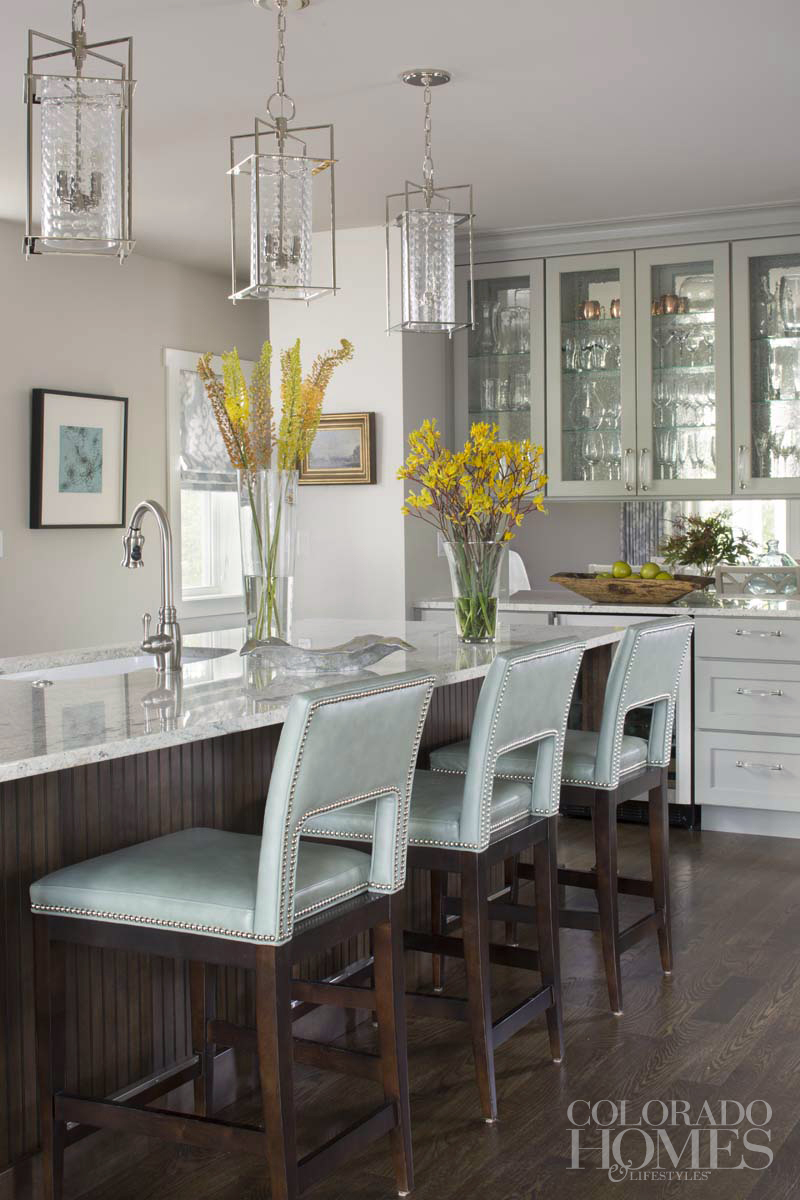 Publication: Colorado Homes & Lifestyles  .  Interiors: Armijo Design Group  .  Artist: Cheryl Rogers