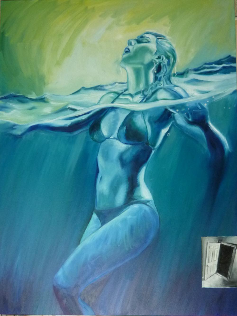 """Opera Aperta  oil on canvas  36"""" x 48"""""""