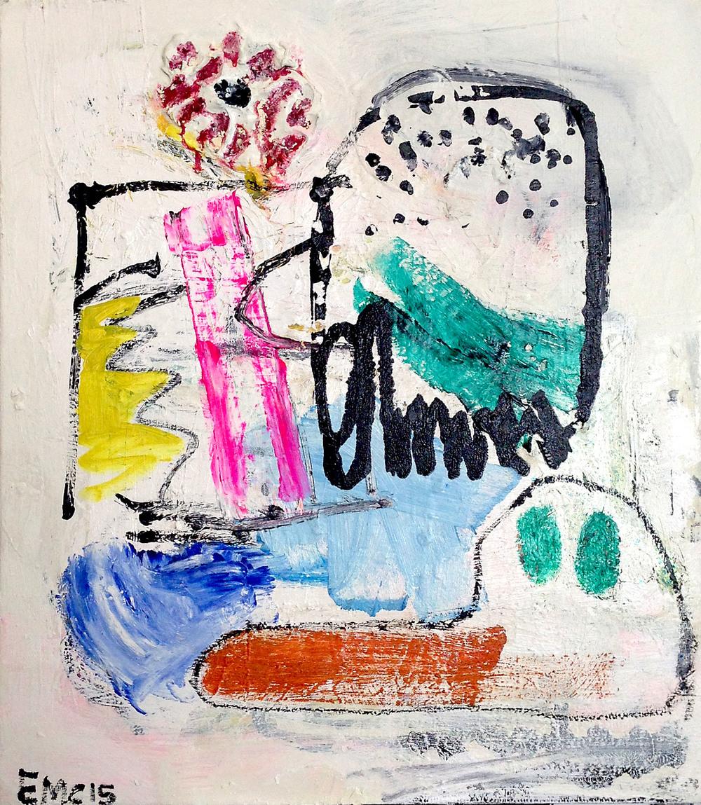 """foxtrot ultra""  oil on canvas  29.5x25"