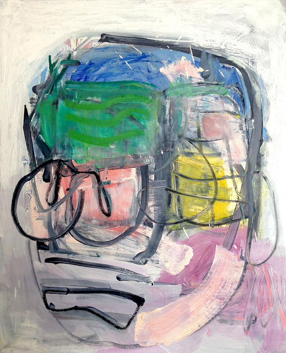 """""""Broken Man""""  oil on canvas  32x30"""