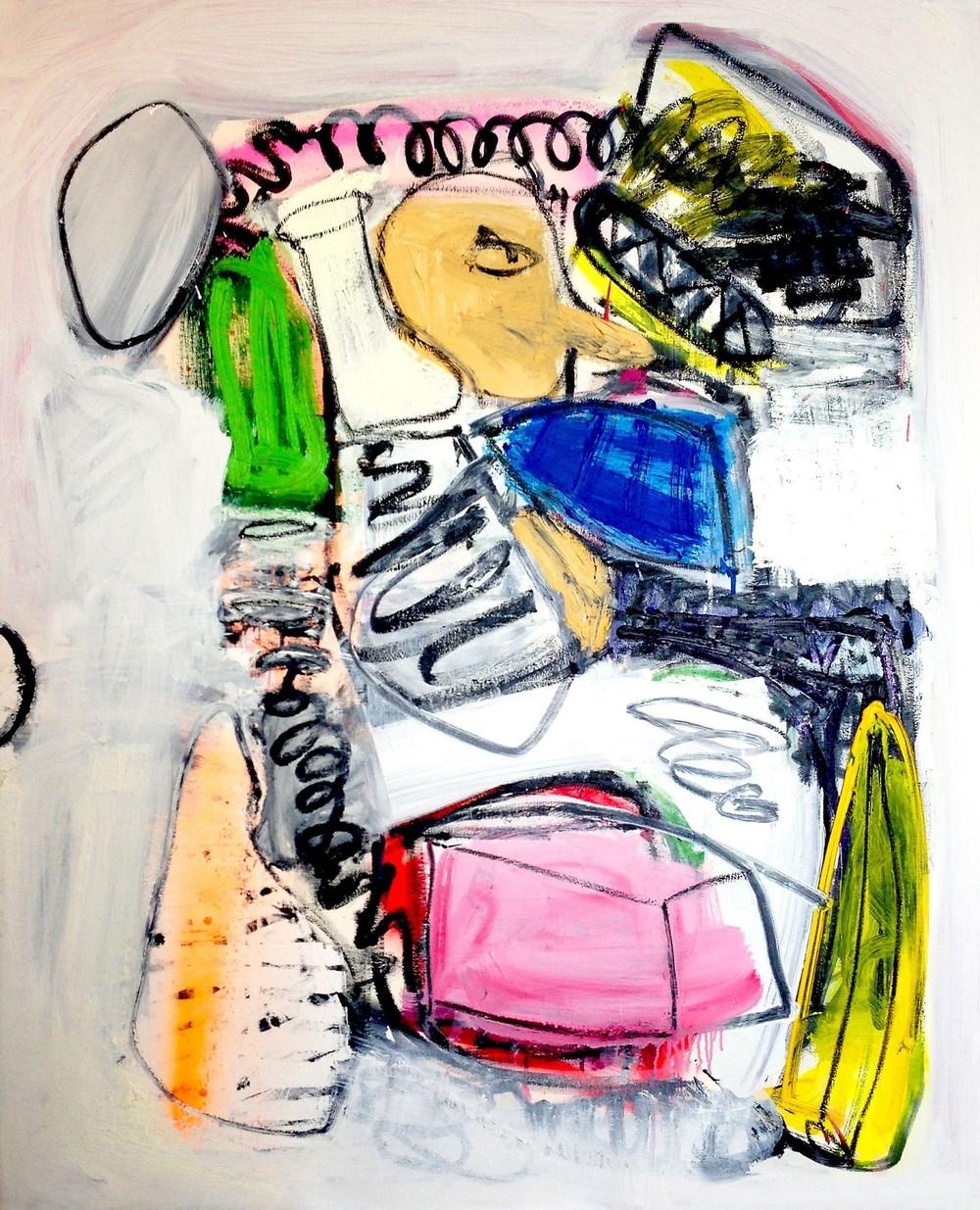 """Jampandy""  oil on canvas  46x32"