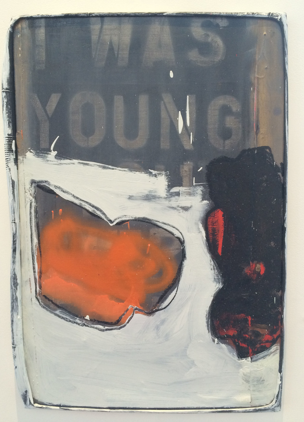 I was young  oil on canvas  30x21