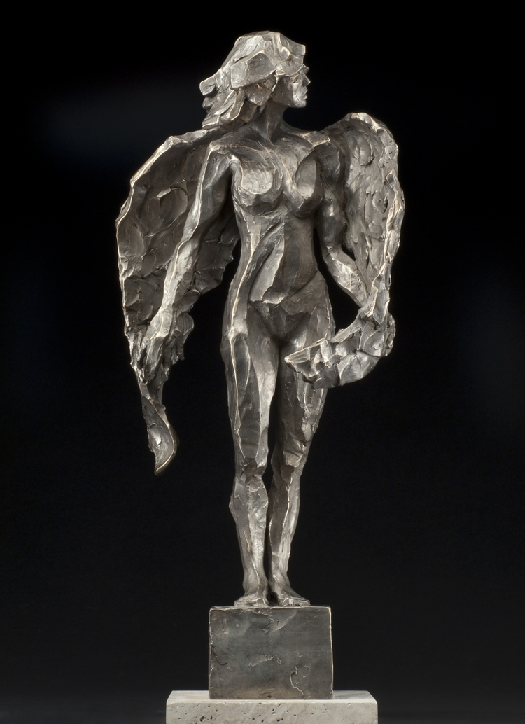 Mountain Angel  bronze  14x8x6