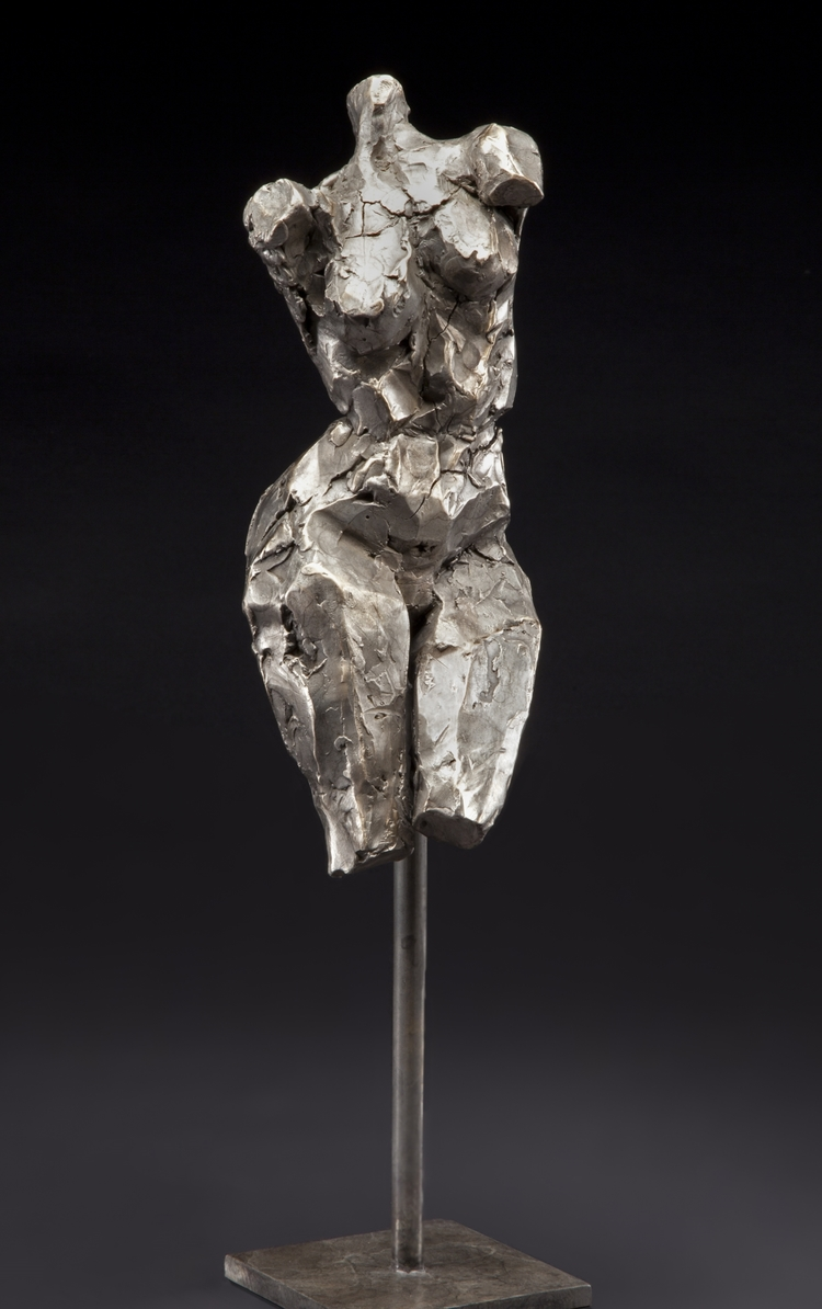 "The Muse  bronze  19"" x 6"" x 5"""
