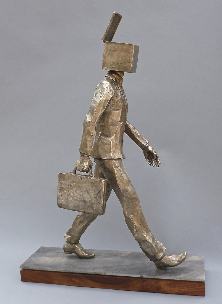 "Open Mind  bronze  26"" x 9"" x 20"""