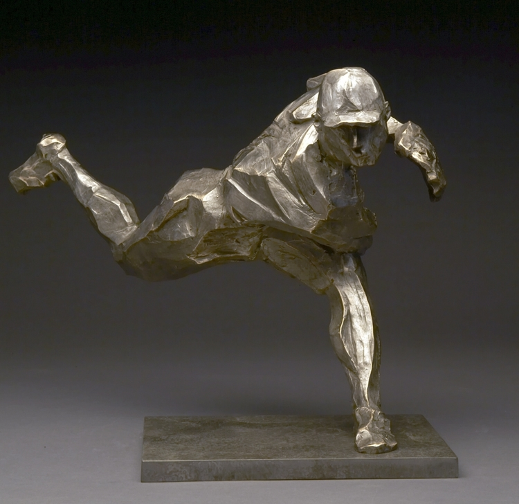 "The Pitch  bronze  12"" x 17"" x 15"""