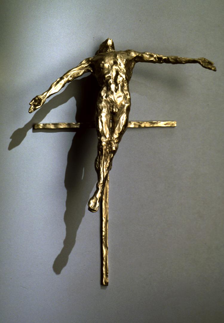 "Transcendence  bronze  25"" x 18"" x 9"""