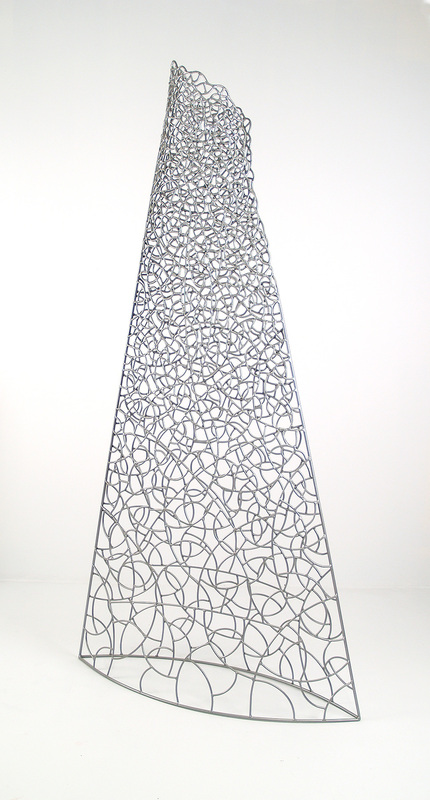 "Lean  Welded & powder coated steel  90"" x 46"" x 15"""