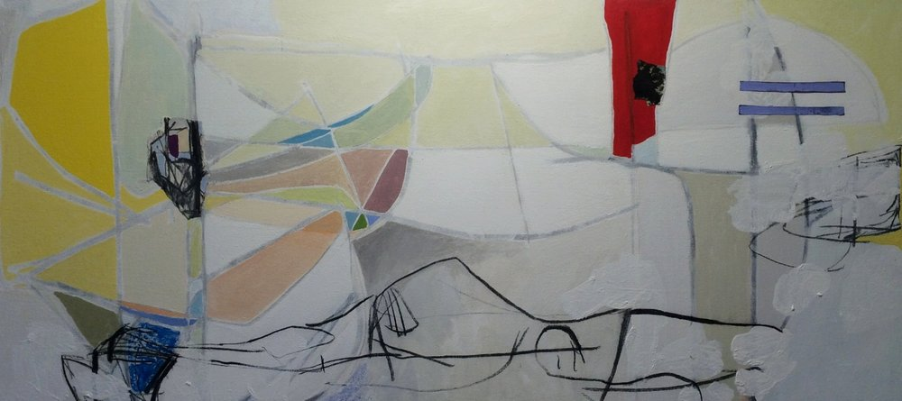 Torso  acrylic on canvas  28x60
