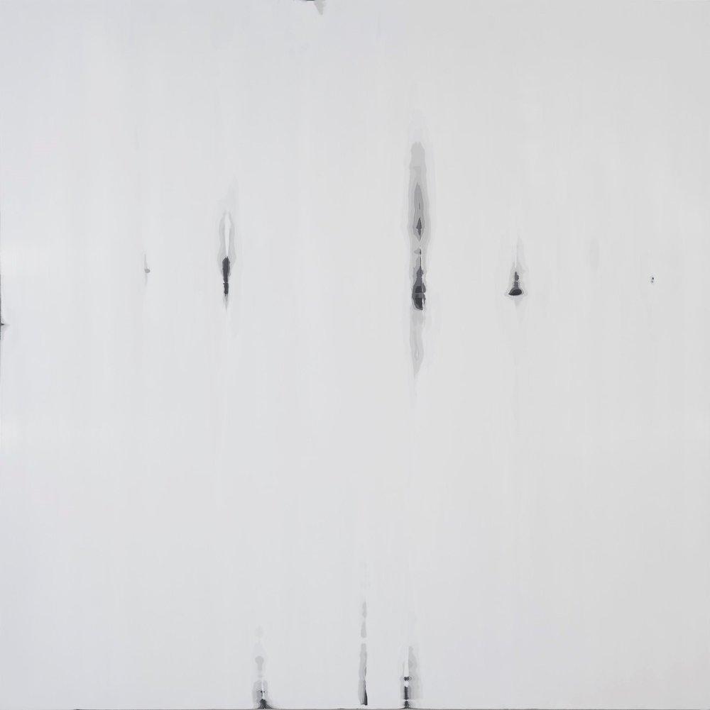 Chris Richter  Smoke Screen  oil on panel  48x48