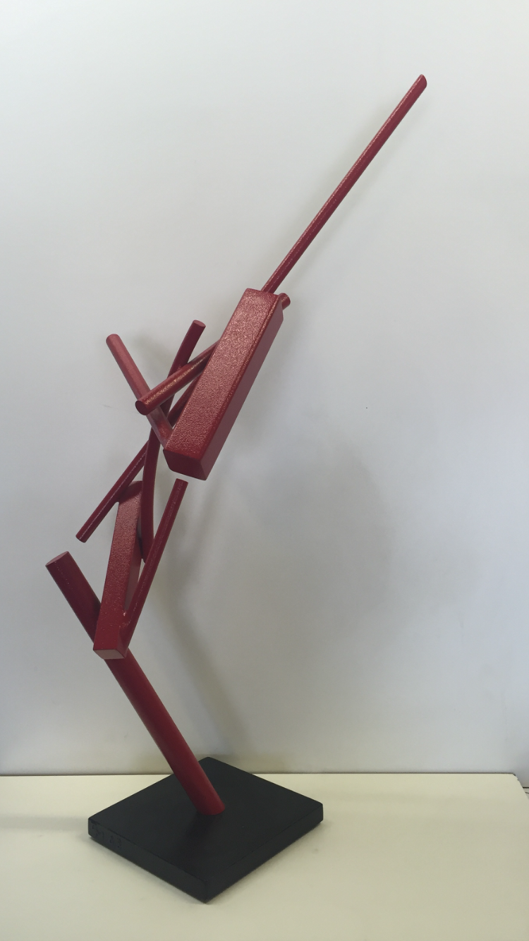 Archernar, 1/4 scale  powder coated steel   31x10x16