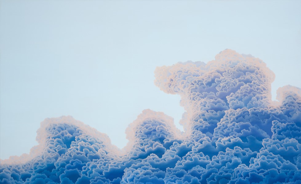 "Daydream Luminescence  oil on canvas  72"" x 44"""