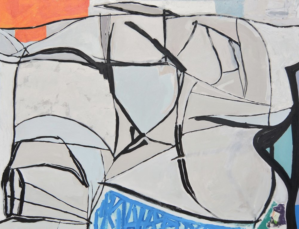 Pangea  acrylic on canvas  46x60