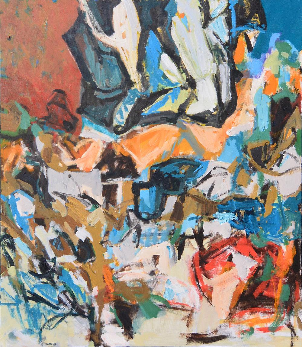 18-2  acrylic on canvas  42x38
