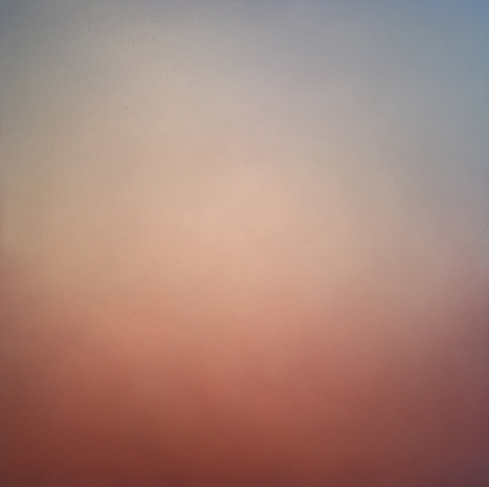 Lindsy Hslleckson  Silent Search 31  acrylic on canvas  36x36
