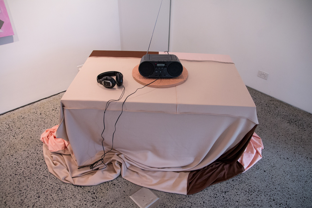 Philippe Vranjes  Noisewear, 2016  Sound piece (60 secs)  Curated by Hana Hoogedeure  Photo: Isabel Rouch