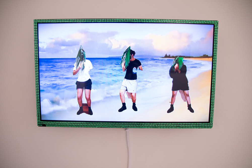 Get To Work  Get To Work, 2015  Digital video (2.30mins)  Curated by Hana Hoogedeure  Photo: Isabel Rouch