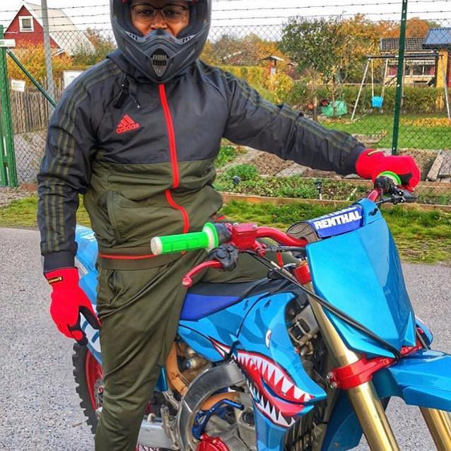 @myboringlyfe showing love all the way from Sweden #BikesOverBangn