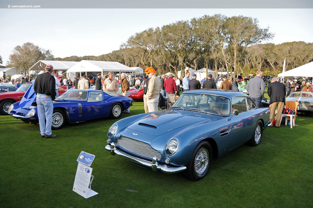 The Aston Martin DB5 pictured above at Pebble Beach in 2012 sold at auction for $748,000, it was just sold again in 2014 at the same location, by the same company, for $1,485,000.