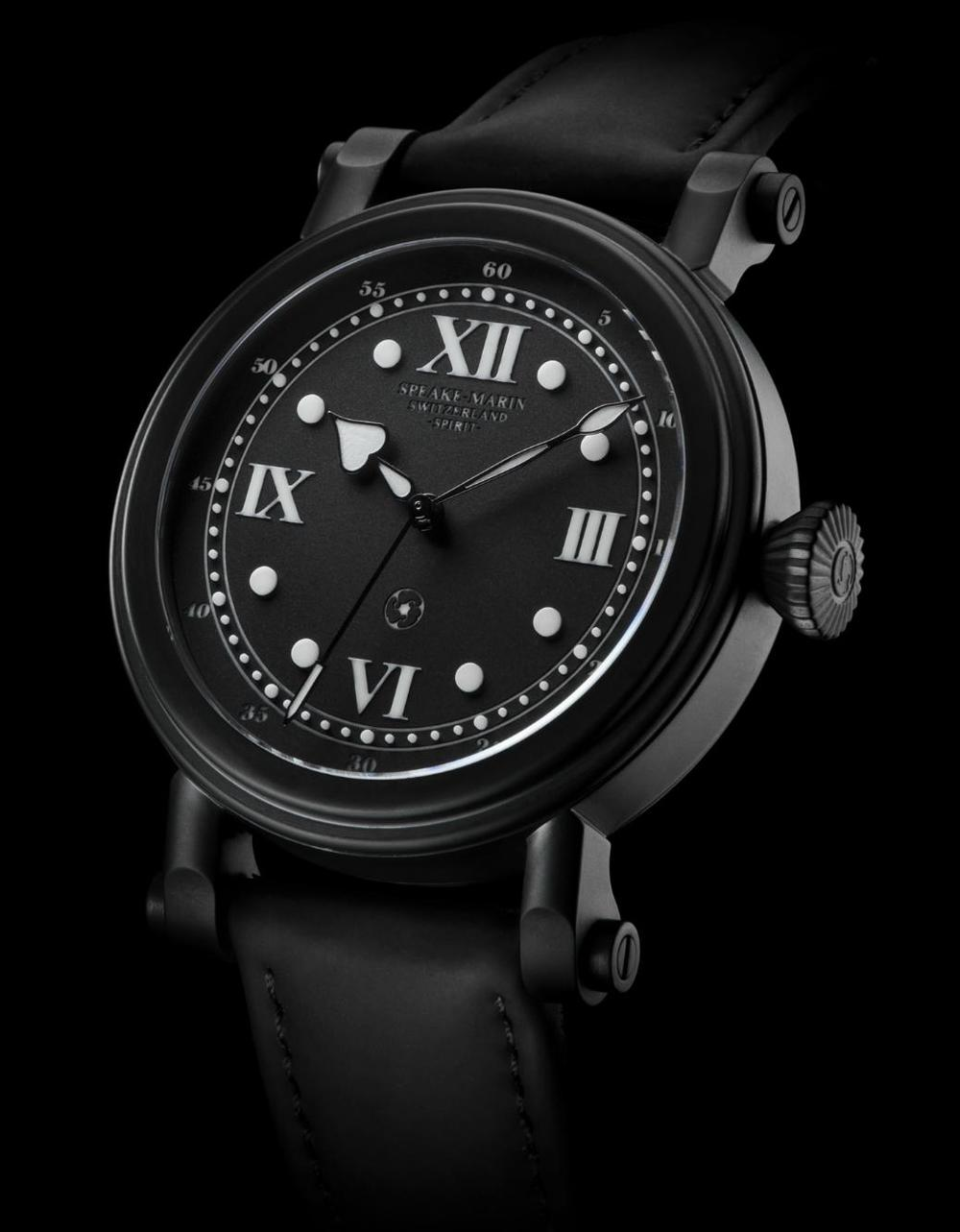 DLC coated model from the highly successful Spirit collection. ©speake-marin