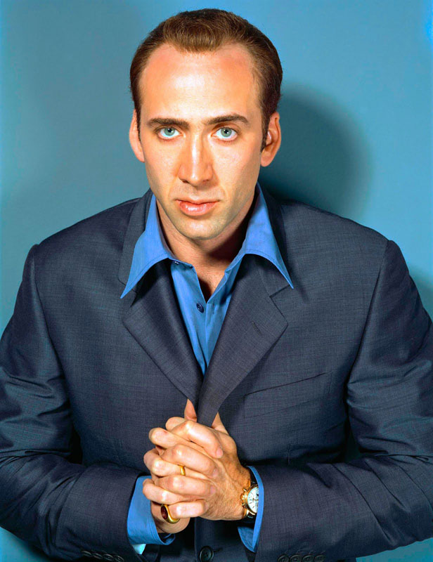 9. Nicolas Cage. Although I believe he has now sold his collection, at one time Cage owned some of the most famous vintage watch references including the Patek Philippe Ref.2499 shown here and a pink gold moonphase calendar with star dial on a bracelet signed Rolex and stamped Ref.6062.
