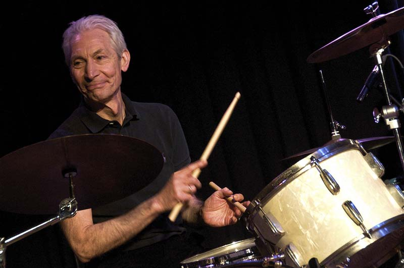 7. Who would believe Rolling Stone drummer Charlie Watts was a pocket watch collector?