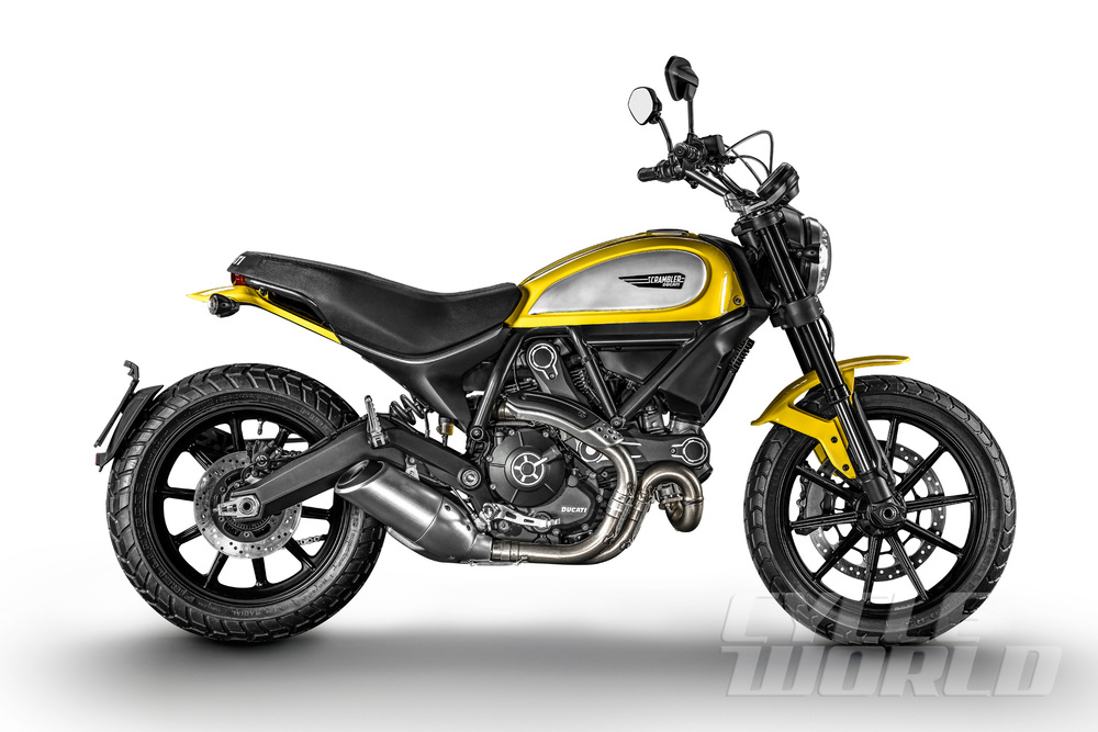 The entry model Scrambler Icon pictured above