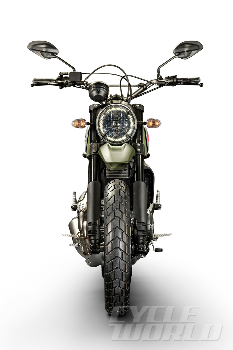 The Ducati Urban Enduro Scrambler I expect will leave dealerships scratching their head and youths beating down the door for a test ride.