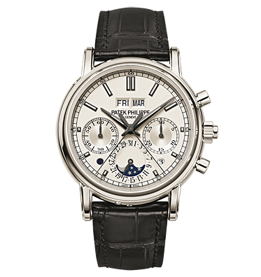 Image of a Patek Philippe Ref.5204,the same as unsold lot 304 at Christie's