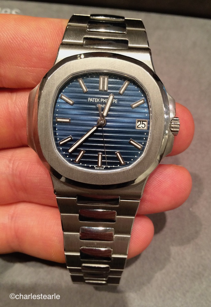 Patek Philippe Nautilus in platinum available as a special order Ref.5711p