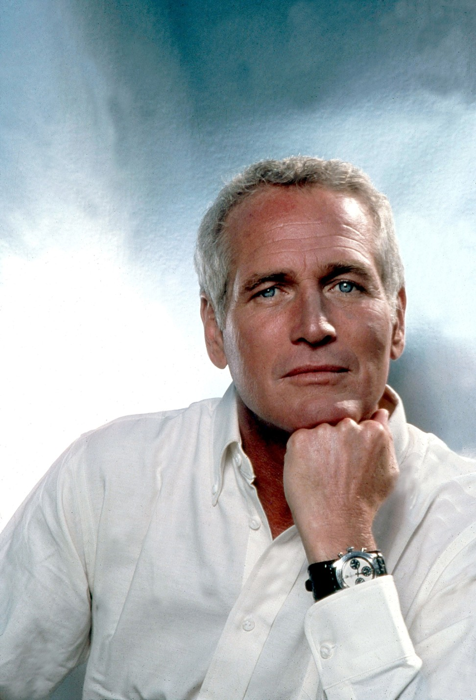 The picture that a started it all, this image was used in an Italian advertising campaign and created the demand for the Rolex 'Paul Newman'