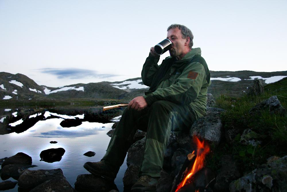 I Lærdalsfjella. (Foto: Odd Helge Brugrand)