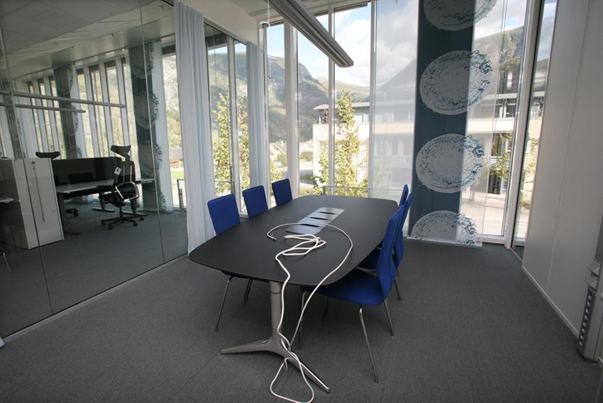 MØTEROM: Nasjonal Transportløyveeining får gode arbeidstilhøve.